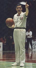 L'arbitro di pallacanestro Giancarlo Vitolo