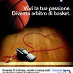 Corso arbitri e ufficiali di campo di basket