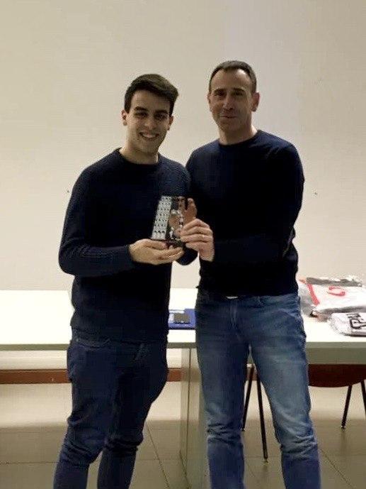 Giovanni Barone con Carmelo Lo Guzzo